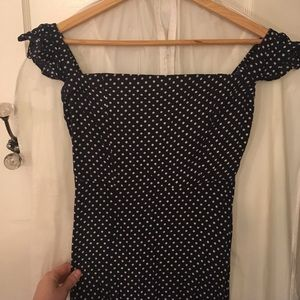 234b600e837f1c Lulu s Dresses - Lulu s Dream Love Navy Blue Polka Dot Maxi Dress
